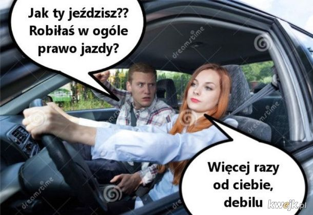 Jak jeździsz??