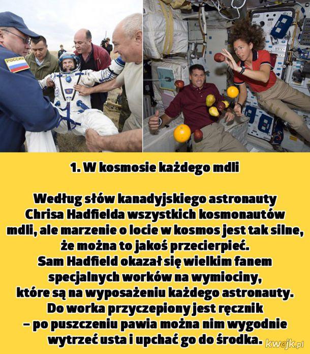 Astronauci opowiadają o tym, co ciekawego dzieje się podczas lotów w kosmos