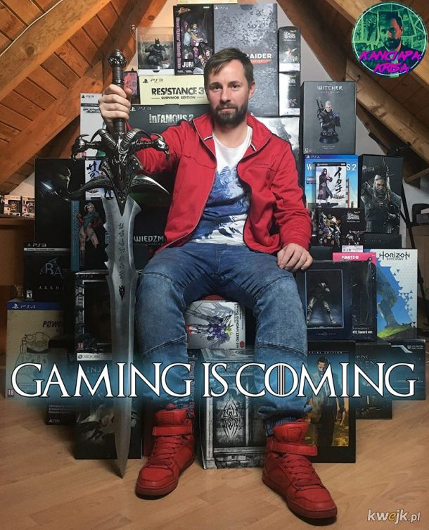 Gaming is coming!