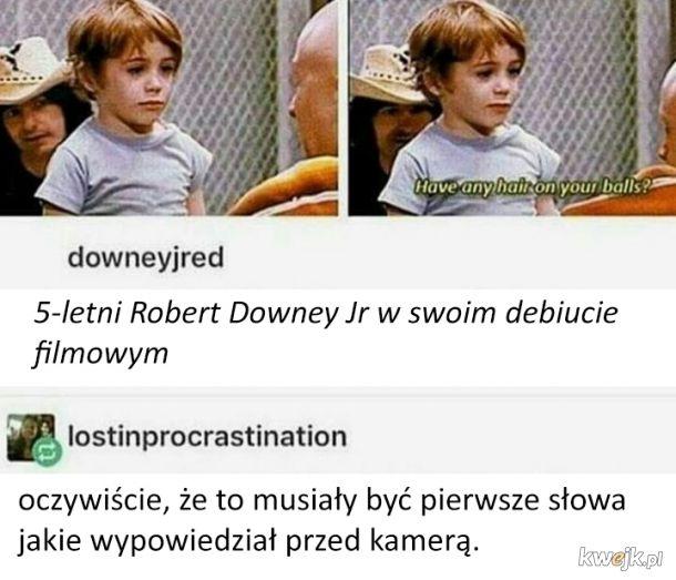 Pierwsza rola Roberta Downey Jr