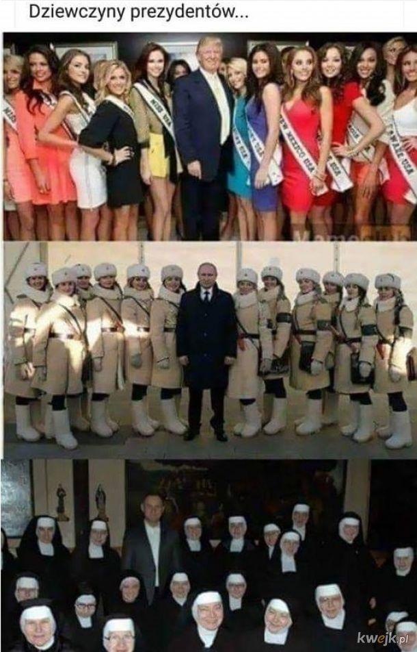 Dziewczyny prezydentów