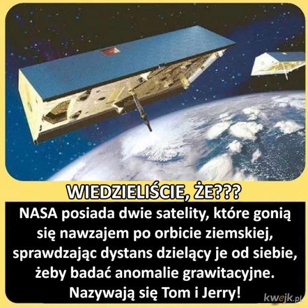 Dwie satelity, które się ganiają