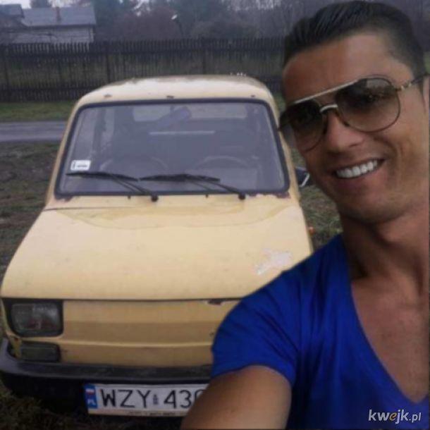 Nowa fura Ronaldo