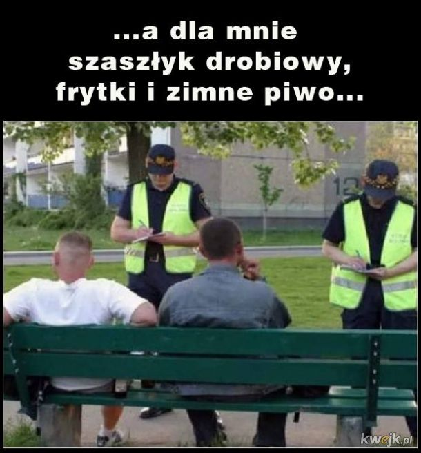 Straż miejska nie tylko od mandatów ale też jako kelnerzy!