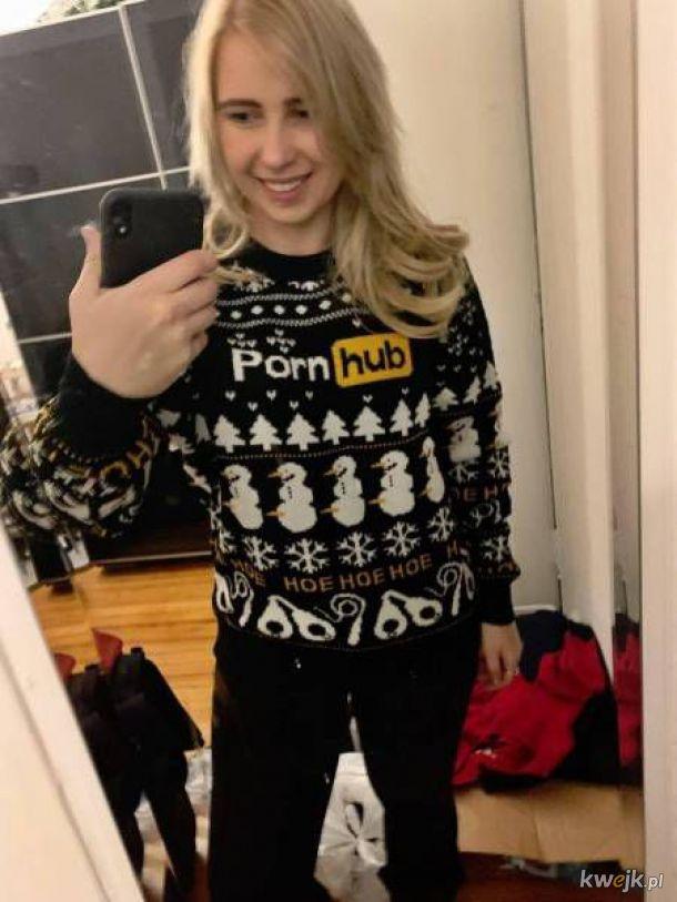 Fajny sweter