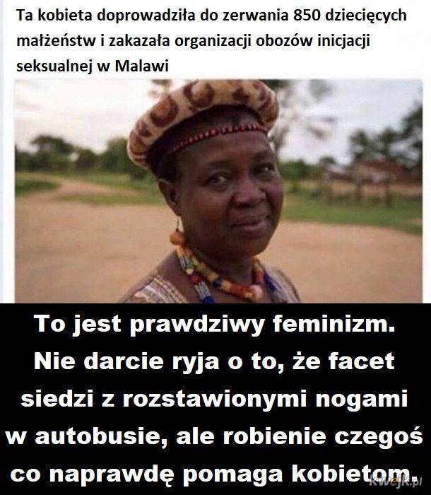 Taki powinien być feminizm