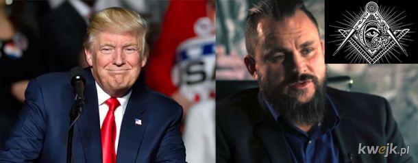 Kolejne loże masońskie działające w Polsce. Tego tajemniczego bizmesmena z Polski podobno namaścił sam Donald Tramp!