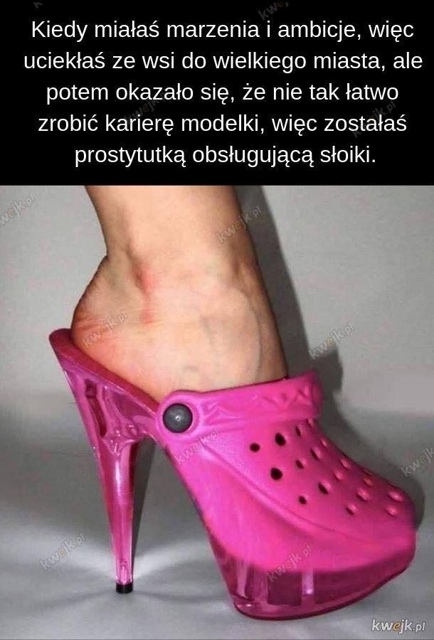 A historii tego buta i tak byś nie zrozumiał
