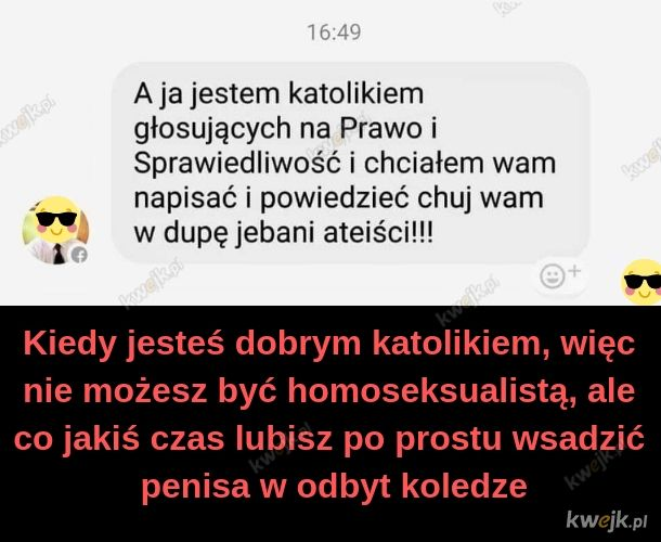 Typowy polski katolik