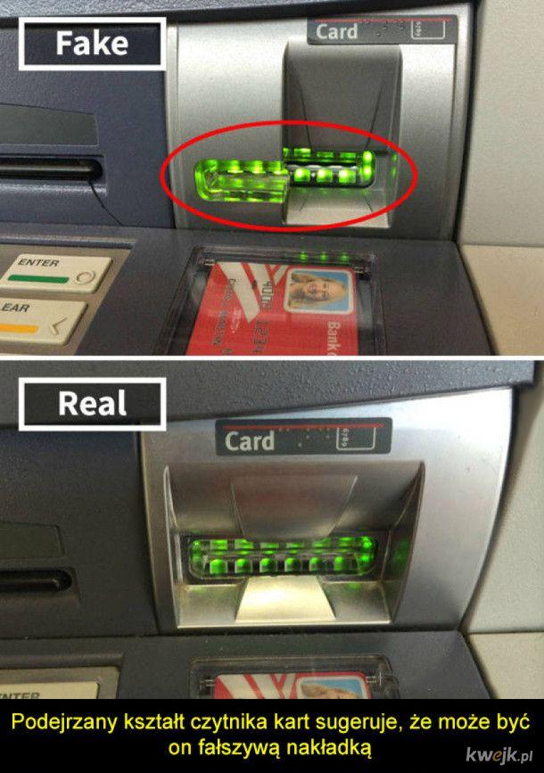 Jak złodzieje okradają użytkowników bankomatów
