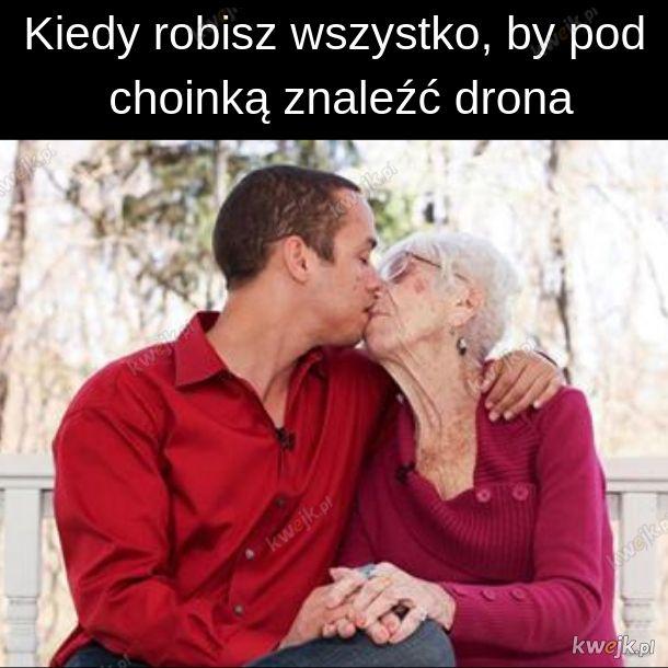 Tak bardzo kocha swoja babcię