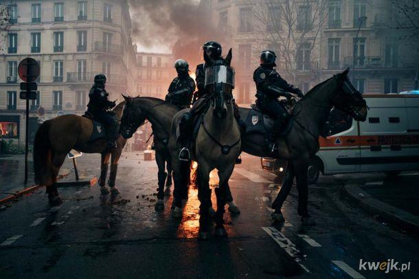 Czterech jeźdźców apokalipsy w Paryżu
