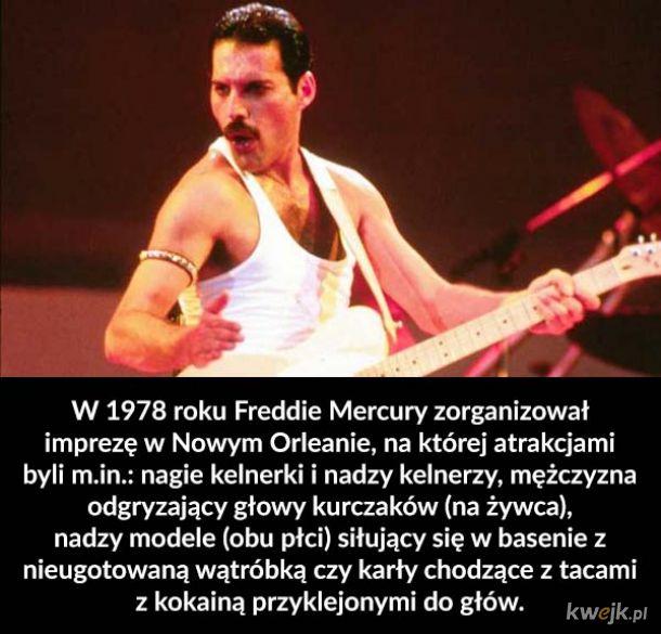 Epicka impreza Freddiego Mercury'ego i inne ciekawostki