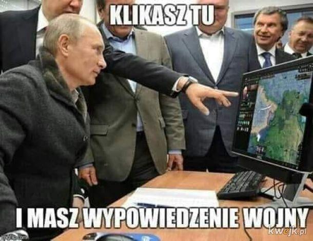 Putin i wypowiadanie wojny