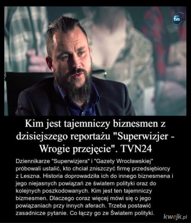 """Kim jest tajemniczy bizmesmen z reportażu Superwizjera, """"Wrogie przejęcie"""" ?"""