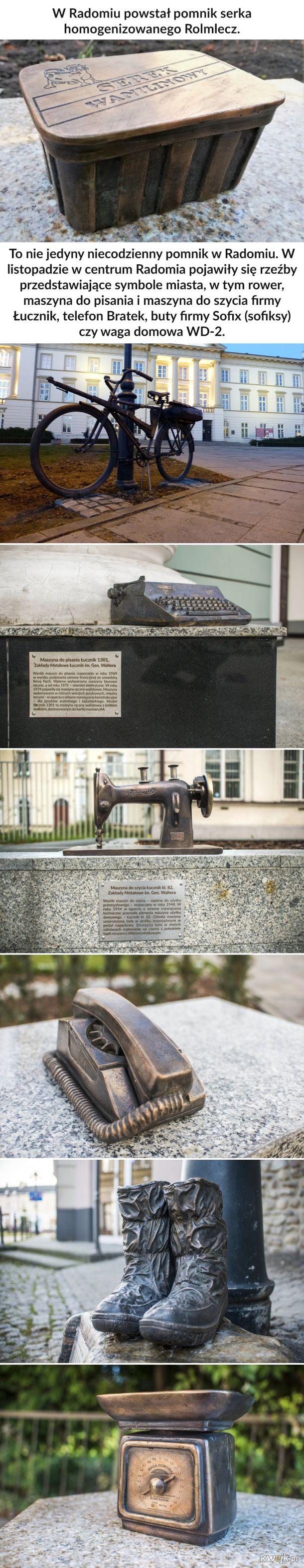 Pomniki w Radomiu