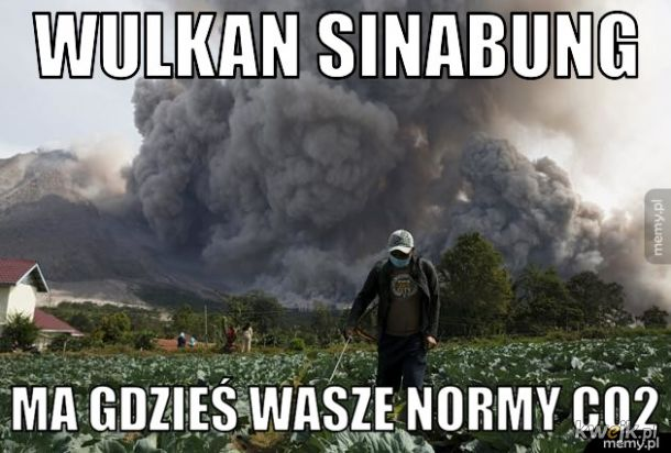 Nieekologiczny wulkan
