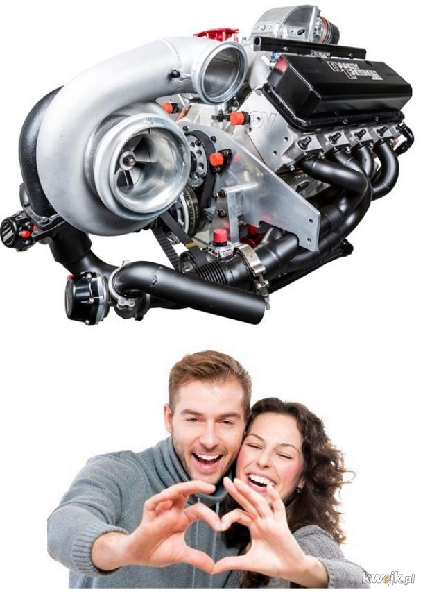 Silnik bez turbiny jest jak mąż bez żony.