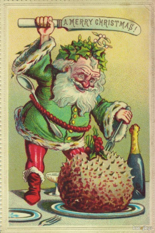 Naprawdę dziwne wiktoriańskie kartki świąteczne