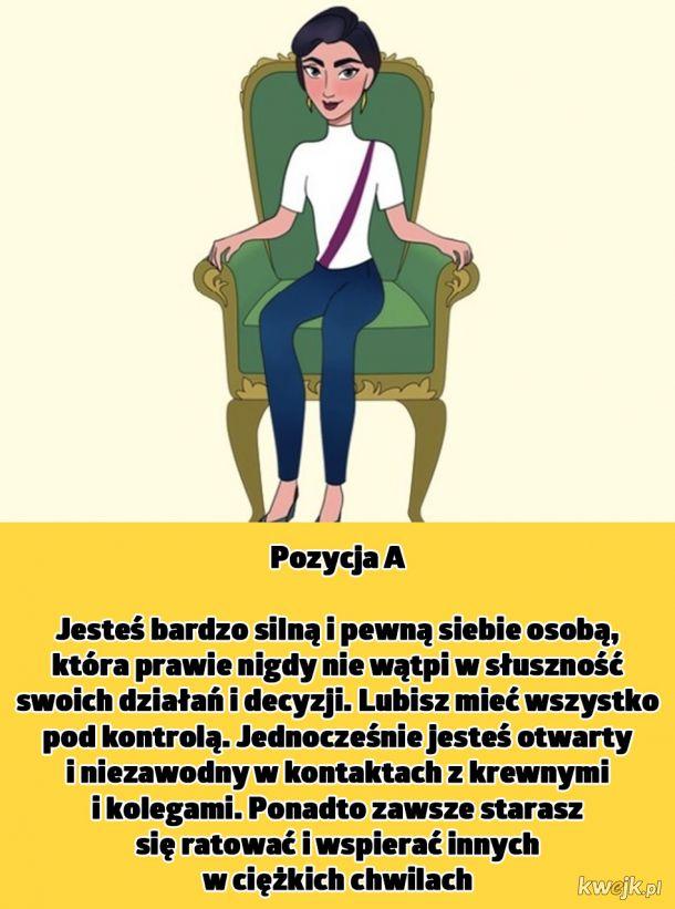 Sposób siedzenia zdradza wiele sekretów na temat naszej osobowości. Zobacz, co mówi o Tobie!