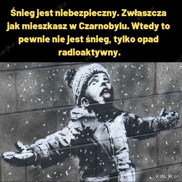 Czarnobylski śnieg