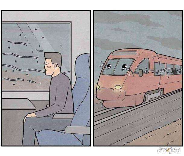 Nie płacz ciuchcia