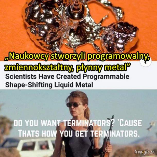 Przygotujcie się na Terminatory