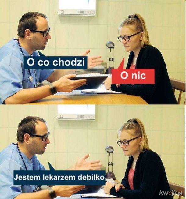 Kiedy laska przychodzi do lekarza