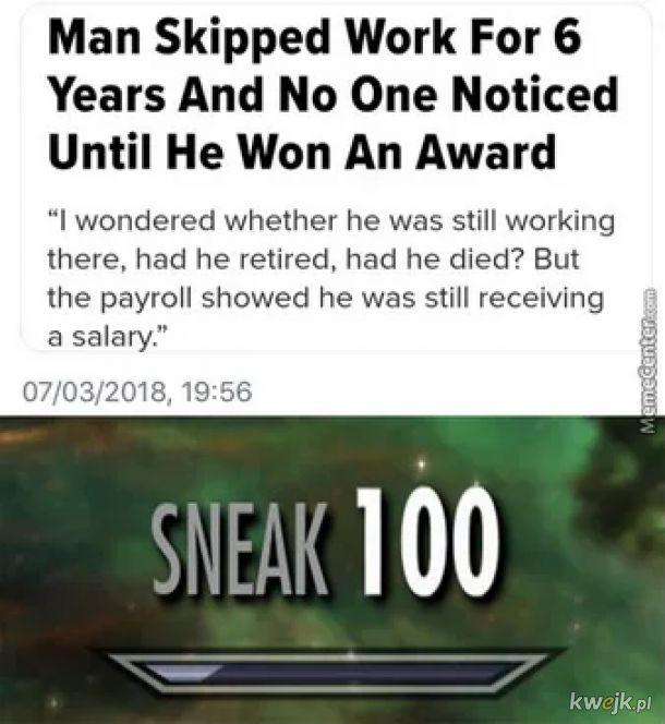 To dopiero skill