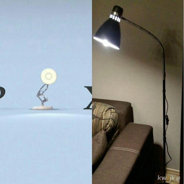 Lampka Pixara #10yearschallenge