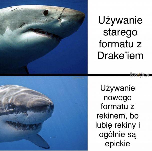 Rekiny są teraz szczęśliwe