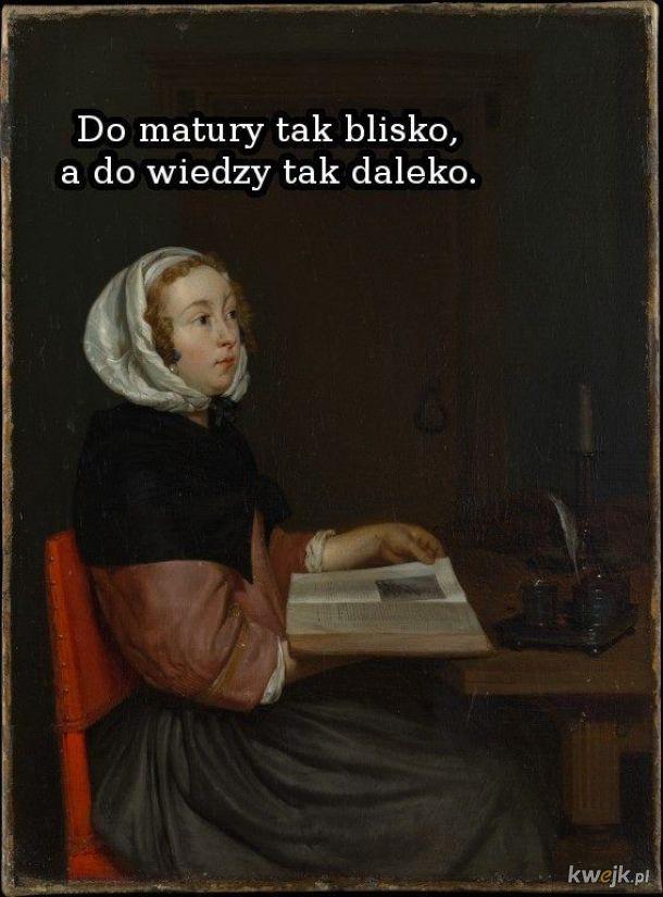 Uczycie się?
