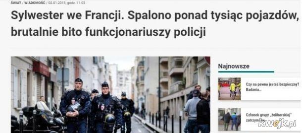 A w Polsce spalili jedną flagę, cholerni faszyści!
