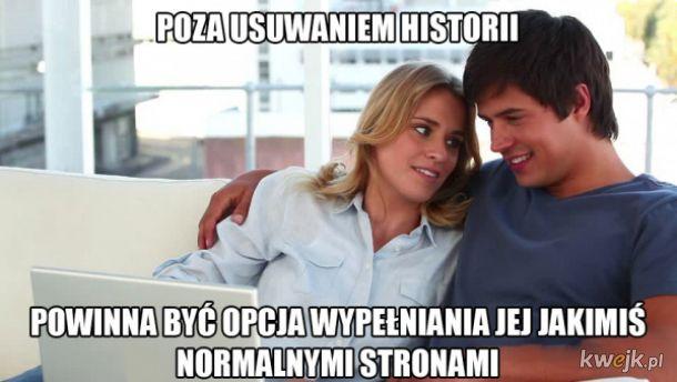Usuwanie historii