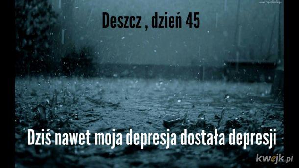 Deszcz kolejny dzień