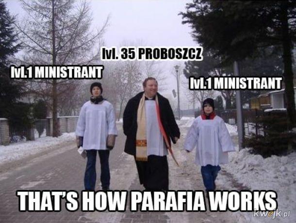 Tak parafia działa