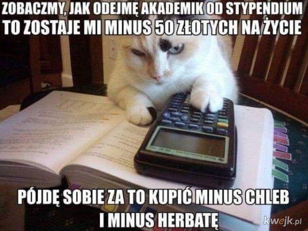 Trudne życie studenta