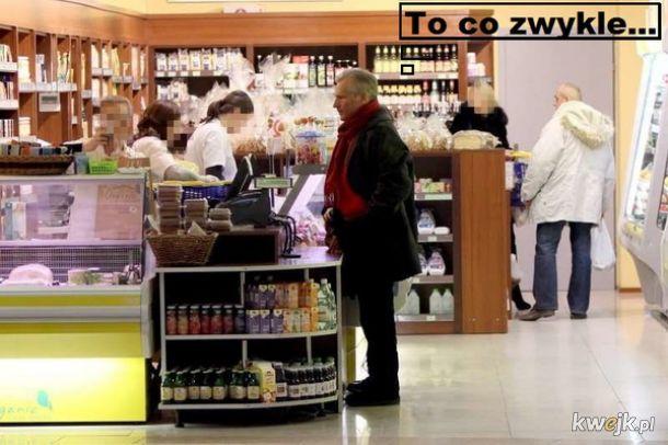 Kwachu w sklepie