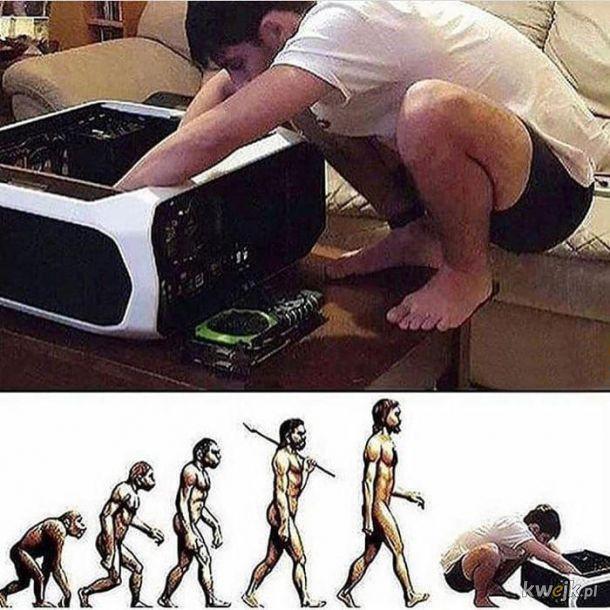 Ewolucja gracze