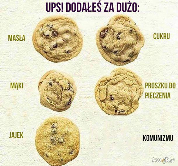 Jak nie zepsuć ciasteczek