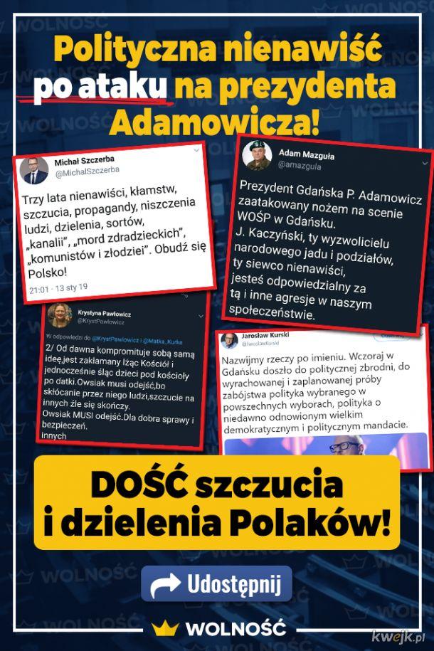 Pawłowicz, Kurski, Mazguła, Szczerba...