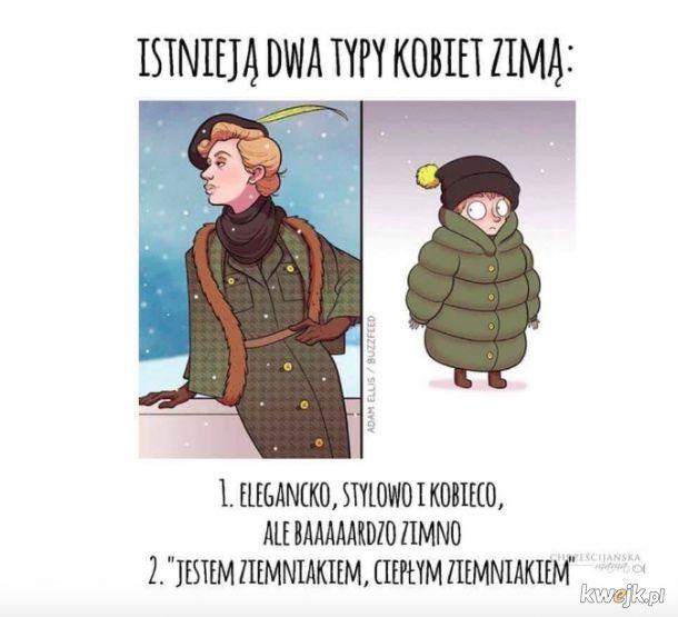 Kobiety zimą