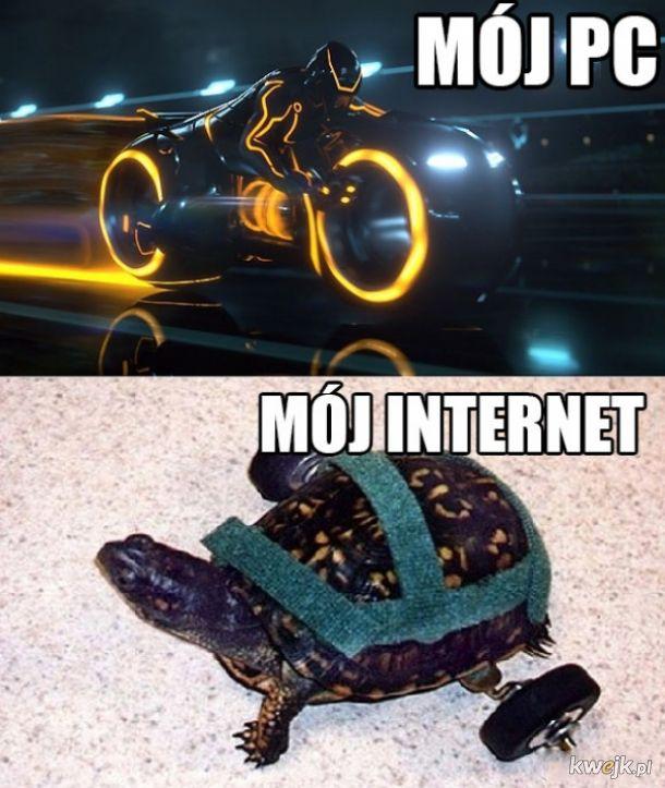 Mój pc vs mój internet