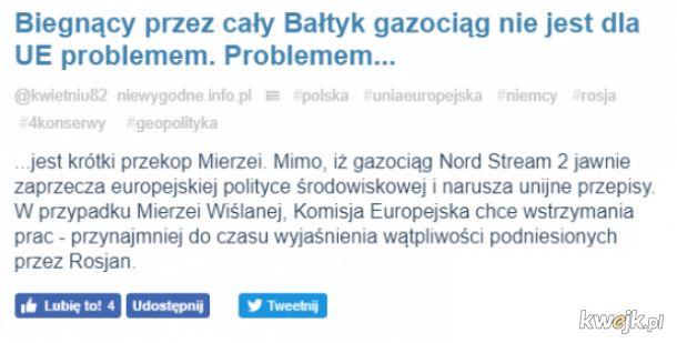Gdy chodzi o interesy Niemiec i ich przydupasów, to przepisy ani nic innego nie ma znaczenia. A gdy chodzi o interesy Polski...