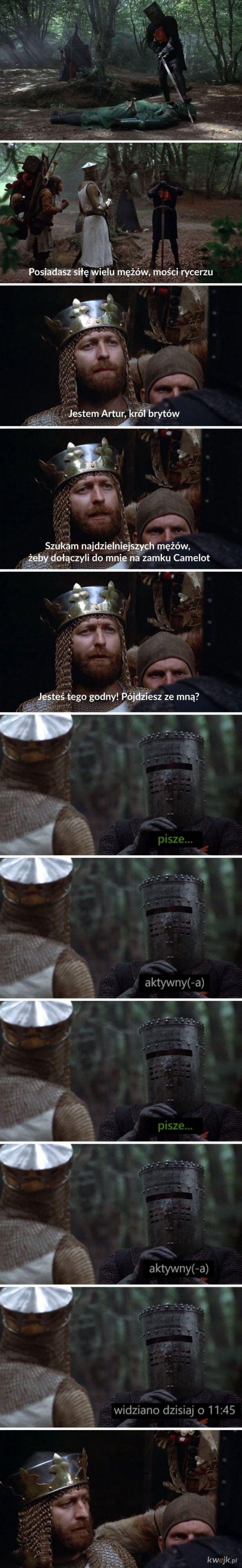 Chyba go olał.