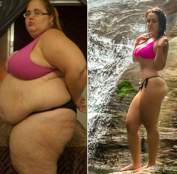 Ludzie,którzy wygrali bitwę z nadwagą i teraz cieszą się życiem