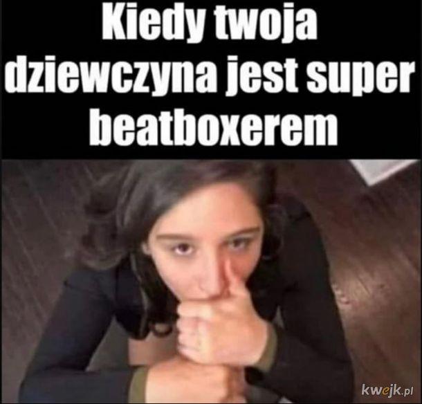 Kiedy Twoja dziewczyna jest super Beatboxerem