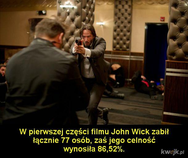 Ciekawostki o Johnie Wicku