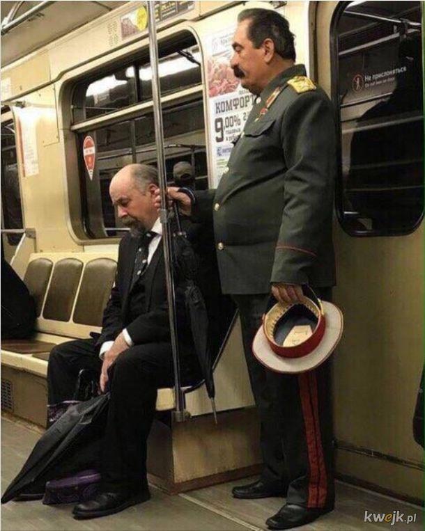 Gdzieś w rosyjskim metrze:)