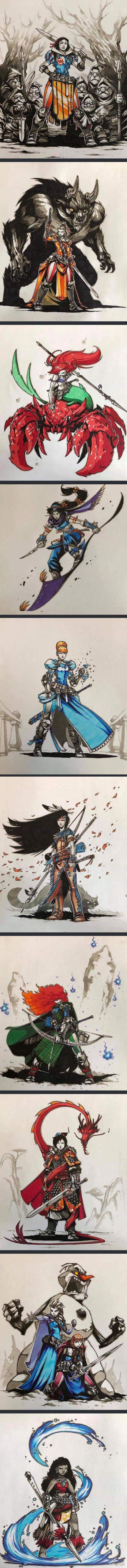 Bojowe księżniczki Disneya